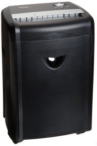 AMAZONBASIC 12-SHEET HIGH-SECURITY MICRO-CUT PAPER, CD, AND CREDIT CARD SHREDDER