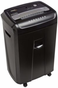 AmazonBasics 24-Sheet Cross-Cut Paper, CD and Credit Card Home Office Shredder
