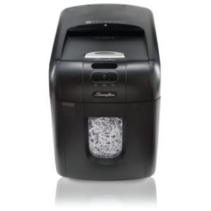 Swingline Paper Shredder, Auto Feed, 130 Sheet Capacity, Super Cross-Cut