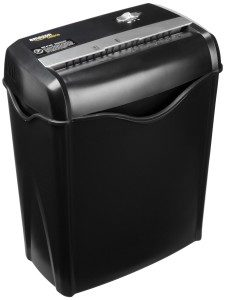 AMAZONBASIC 6-SHEET CROSS CUT PAPER AND CREDIT CARD SHREDDER