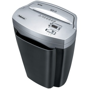 FELLOWES 3103201 POWERSHRED W-11C 11 SHEET PAPER & CREDIT CARD CROSS-CUT SHREDDER