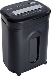 Amazon Basics Cross-Cut Paper or CD Credit Card Office Shredder
